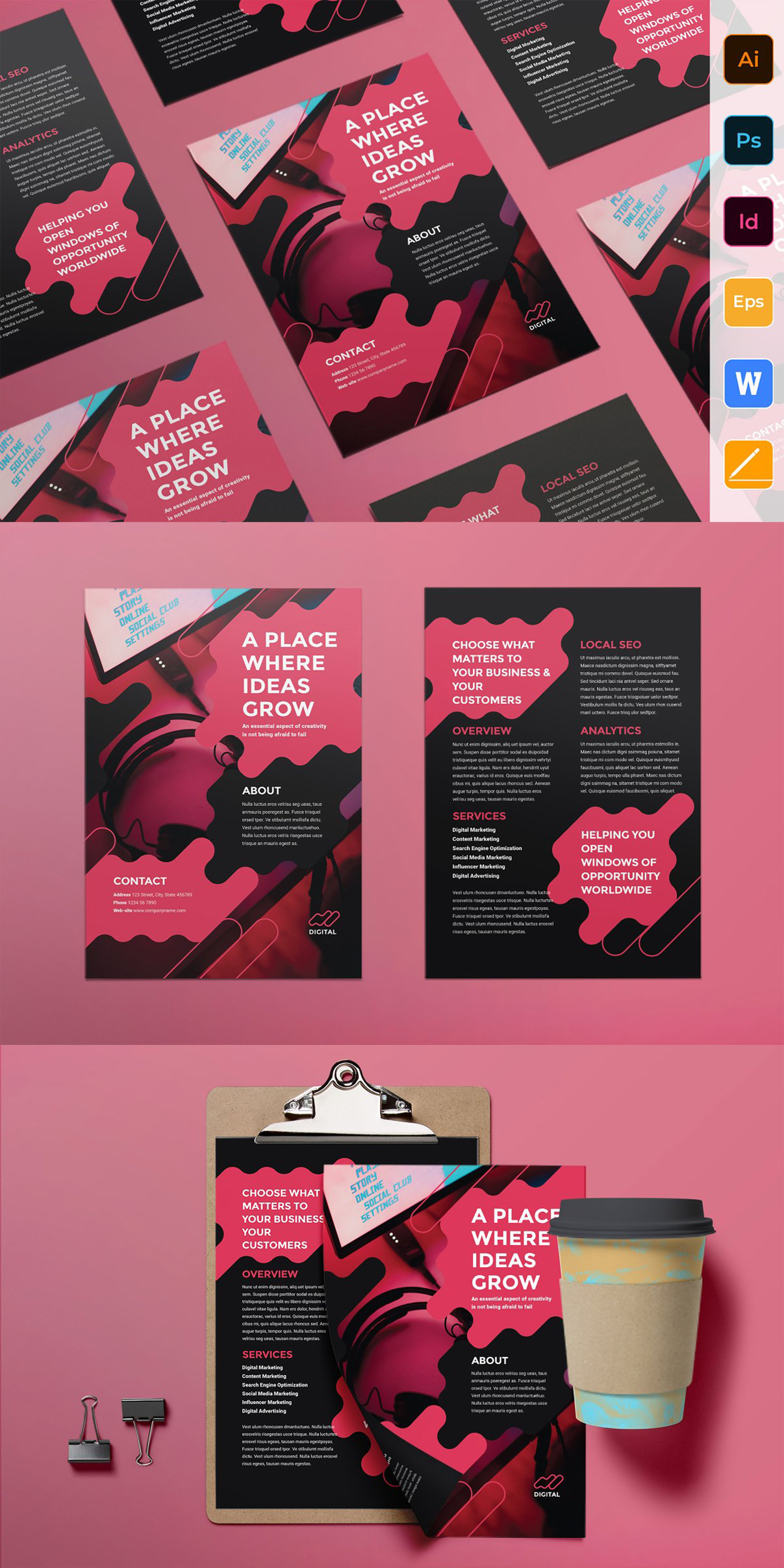 Need Some Inspiration To Create A Perfect Event Flyer Check Out Some Of These New Event Flyer Examp Event Poster Design Flyer Design Advertising Design Layout