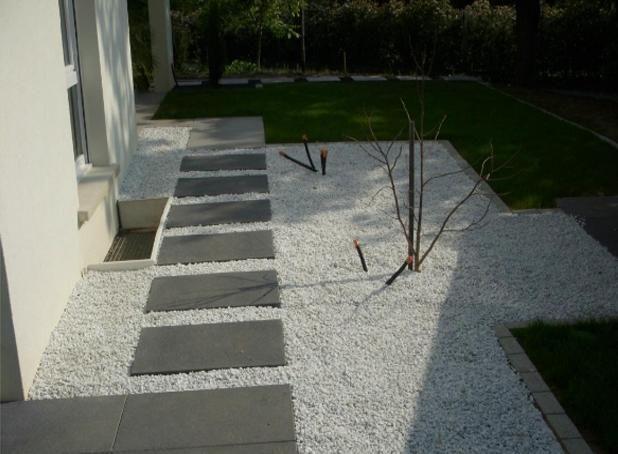 Parterre avec cailloux preview parterre avec cailloux for Cailloux jardin japonais