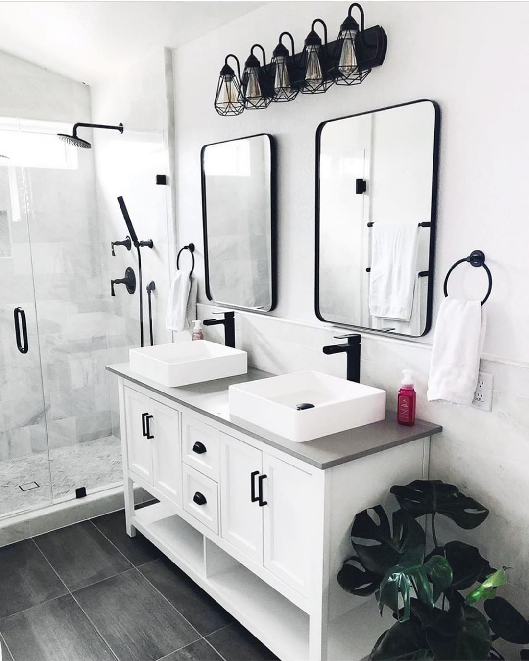 Bathrooms Of Instagram On Instagram Matte Black Yes Please Check Out Vigoindustries To Get Your M Matte Black Bathroom Fixtures Bathroom Vanity Bathroom