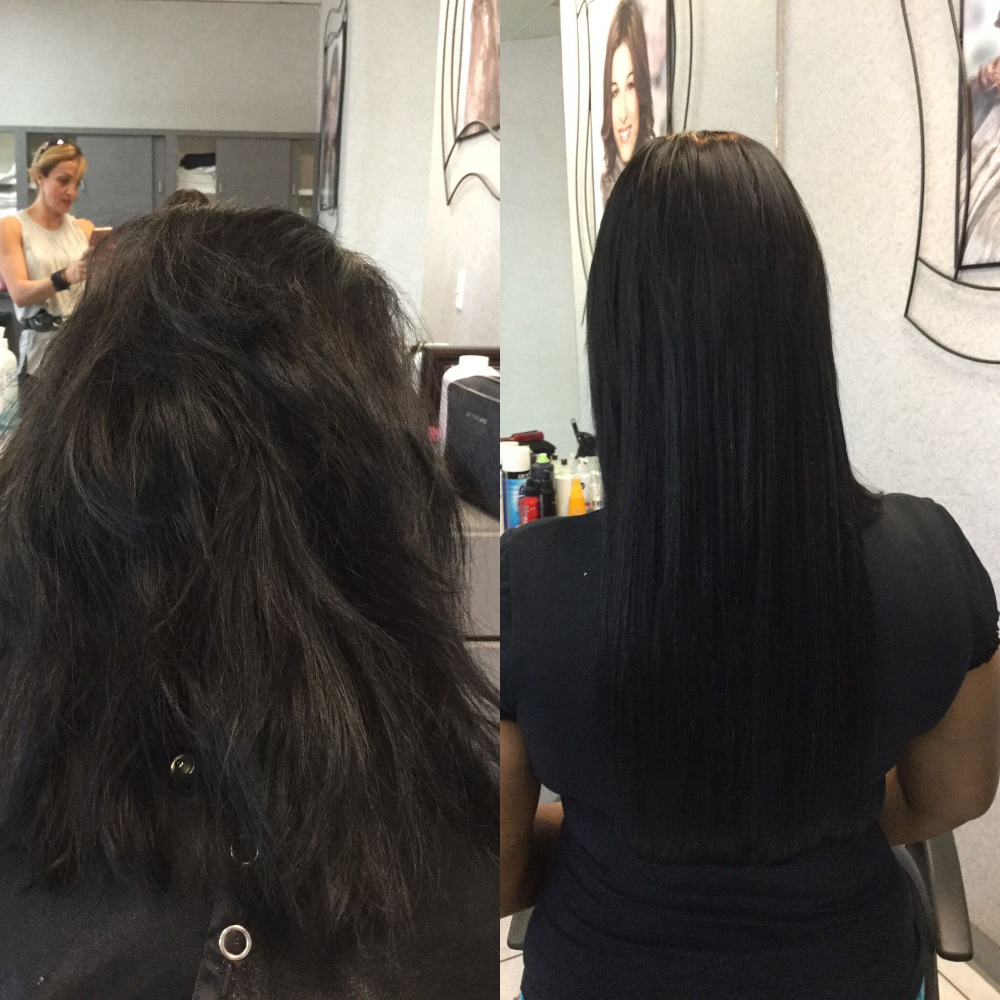 Before And After Fusion Extension By Biowoman A Paul Mitchell Focus