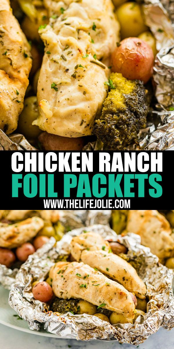 Ranch Chicken Foil Packets images