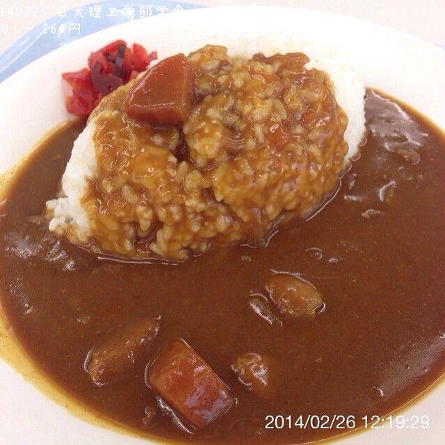 .@ogu_ogu | 140225 某大学の学食 カレー 260円 #カレー #カレーライス #curry #curryrice #lu... | Webstagram