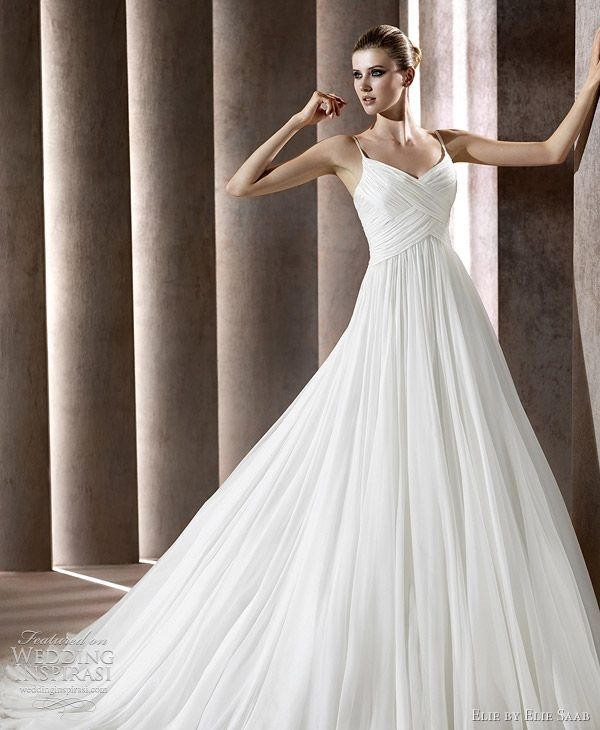 6c9fa9da5 Elie by Elie Saab Wedding Dresses 2012 Bridal Collection | * Style ...