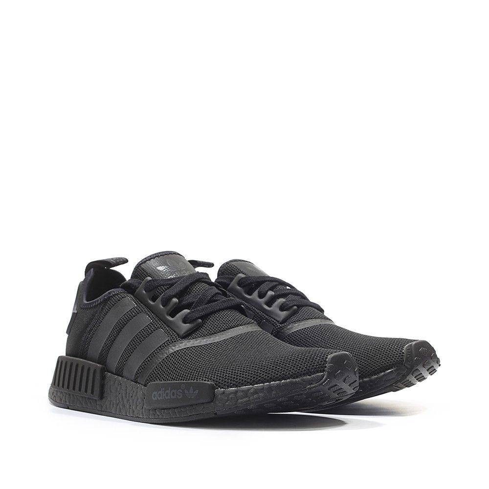 a713c8627d2e4 adidas Originals NMD R1 Runner Colored Boost  Triple Black  (black   black)