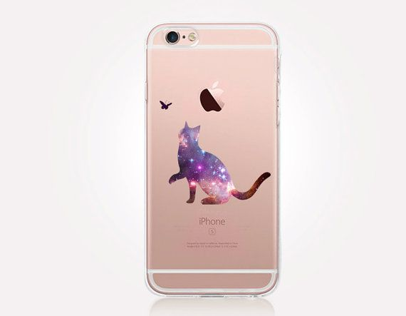 chat transparent coque case transparent iphone cas par