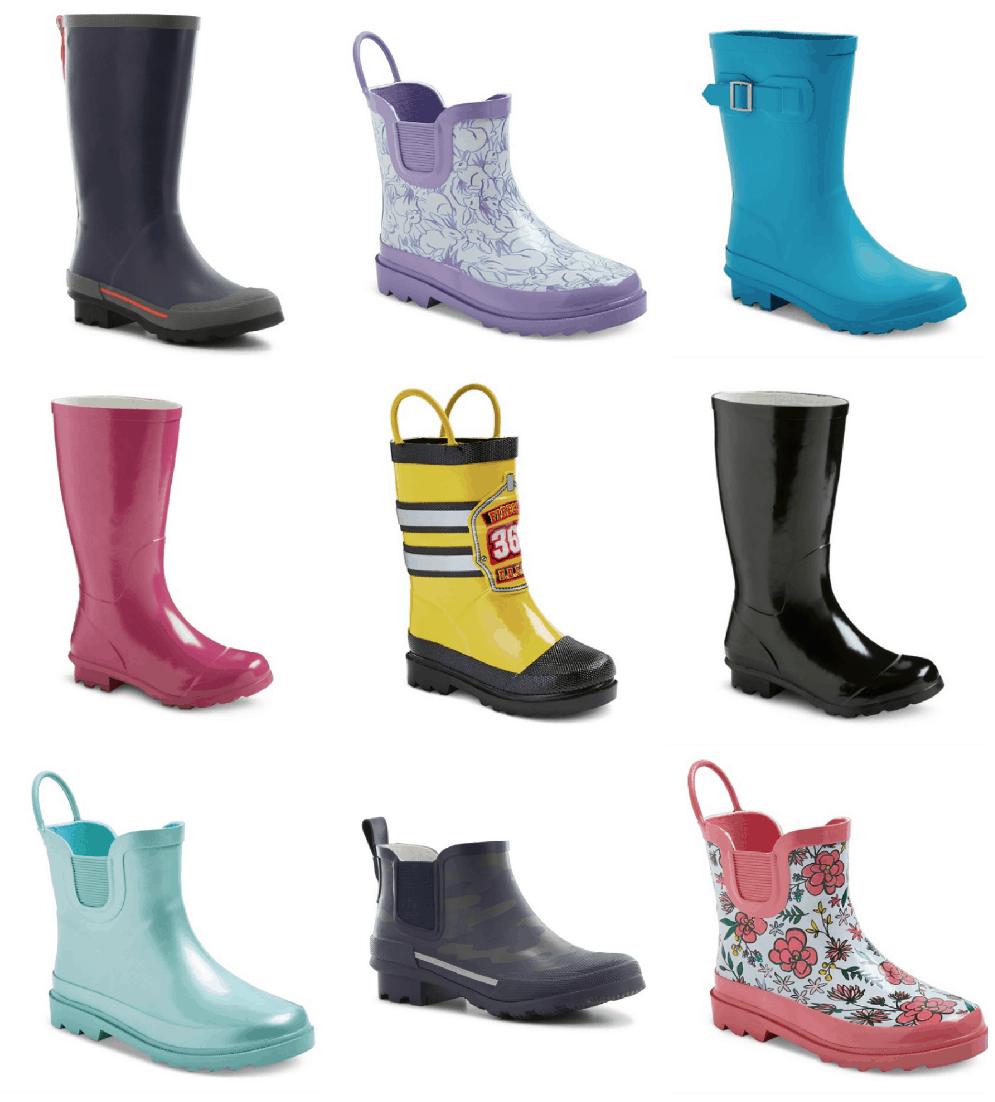 Target Childrens Rain Boots di 2020