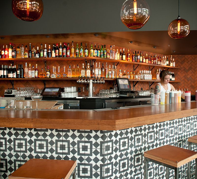 Image Result For Tiled Bar Front Slocan The Main