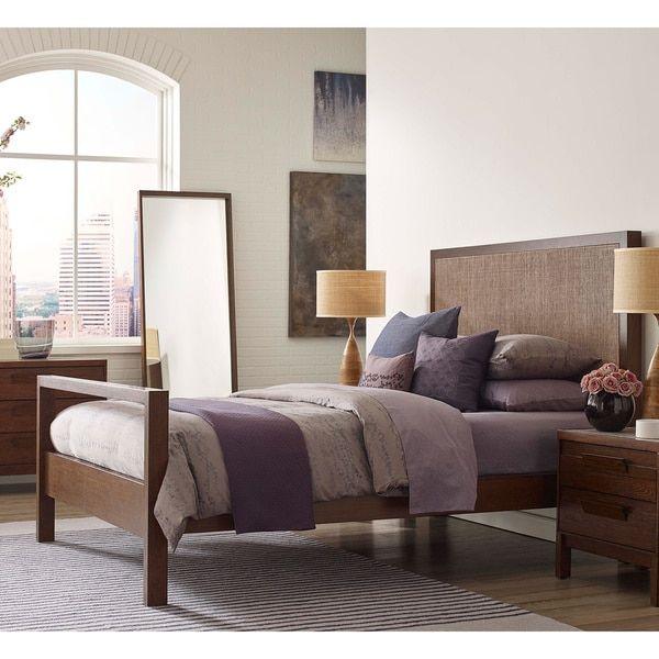 Calvin Klein Cooper Woven King-size Bed | Apartment | Pinterest