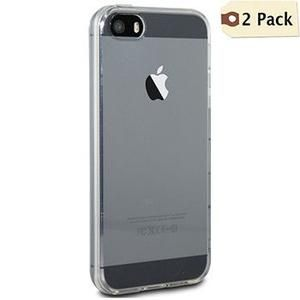 2 Pack - Ultra Thin (0.3mm) Transparent iPhone (4/ 5/ 6/ 6 Plus) Cases