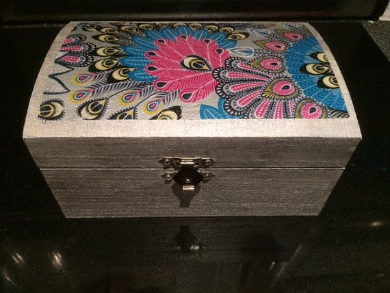 Wooden jewellery/trinket box by GiftsandDesigns on Etsy