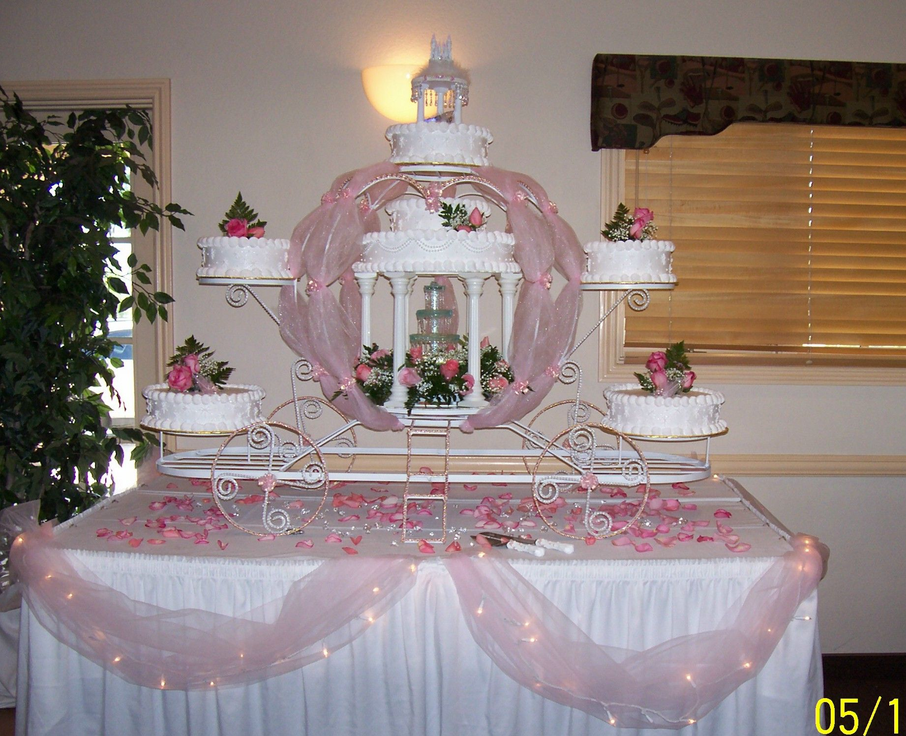 quinceanera carriage chair Fairy Tale Weddings Cinderella