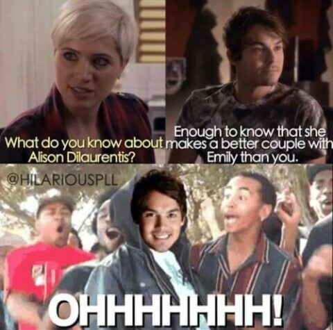 I hate Semily and Emison, Paula is where it's at.
