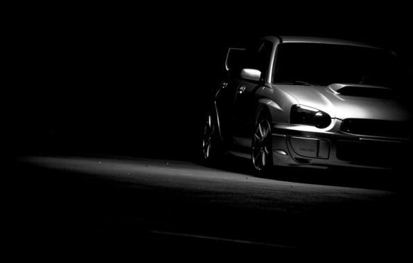 Wallpaper Subaru Impreza Wrx Sti Subaru Impreza Car Black