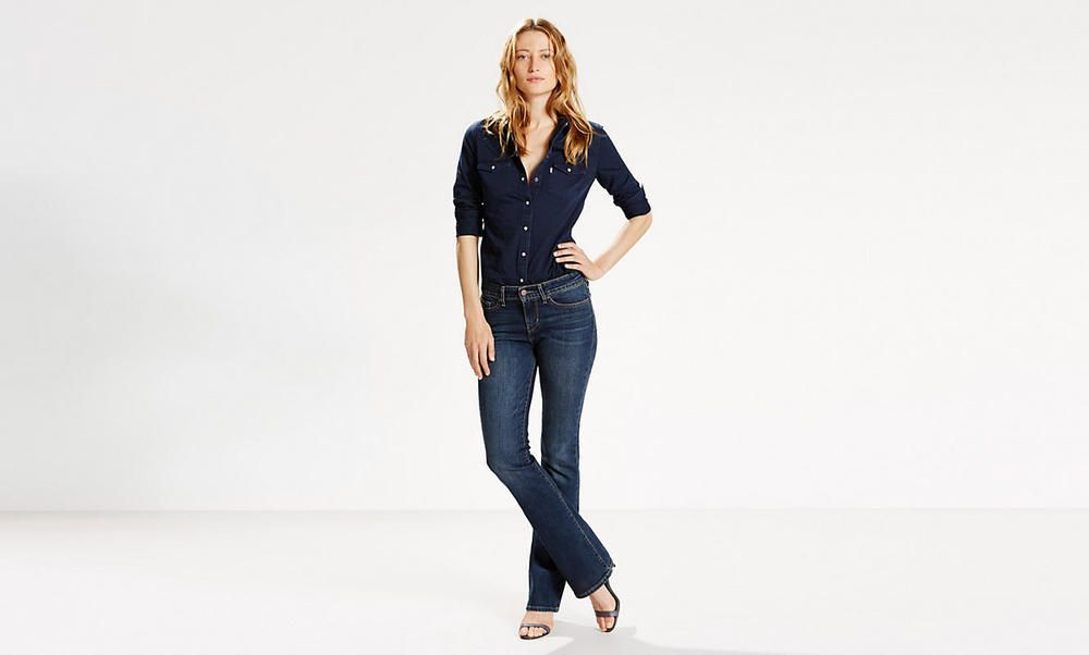 Levi 569 Loose Straight Fit Womens