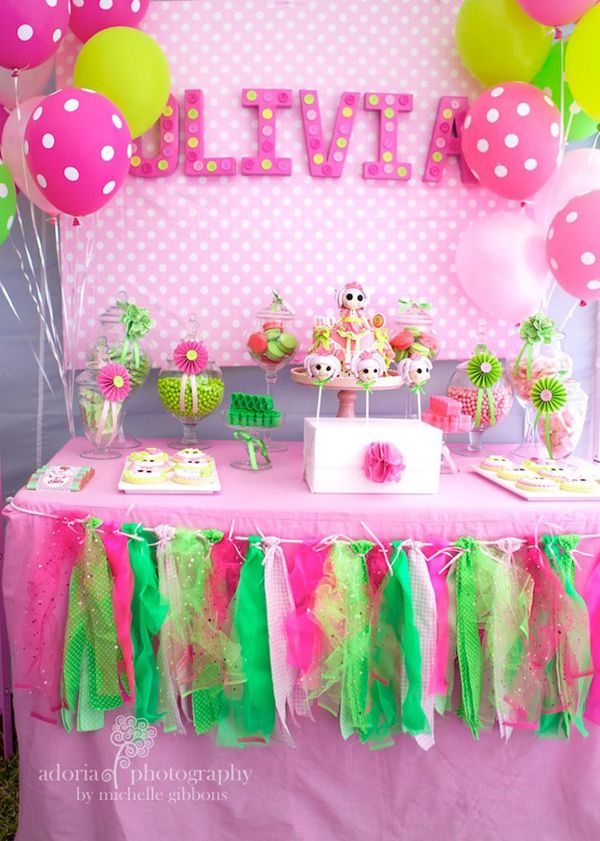 lala loopsy cake decorating birthday party - Birthday Party Decoration Ideas