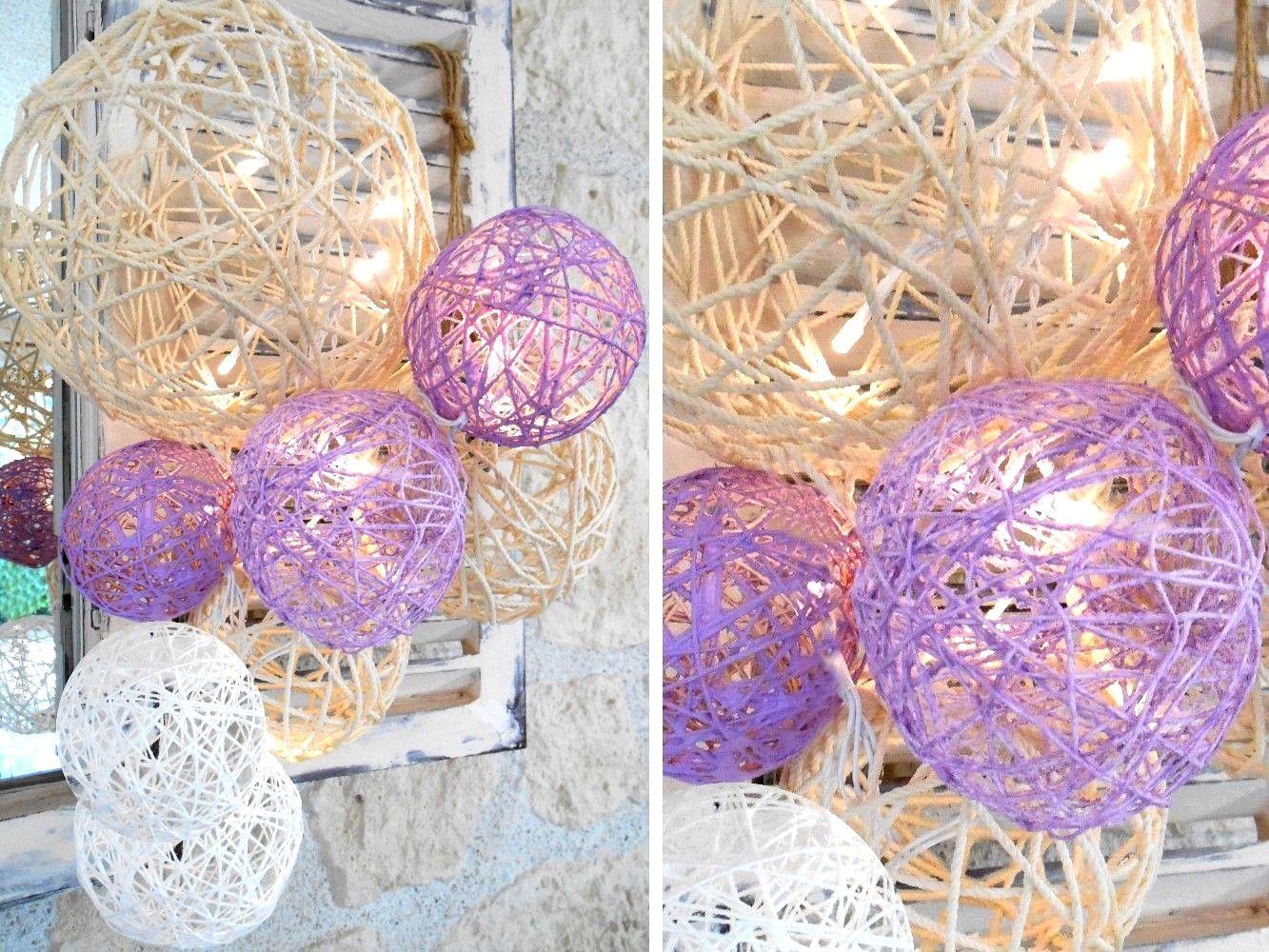 durcisseur boules en ficelle voici un atelier qui est tout fait dans l 39 air du temps ces. Black Bedroom Furniture Sets. Home Design Ideas