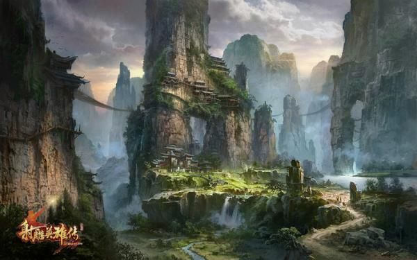 concept art landscape - Google Search