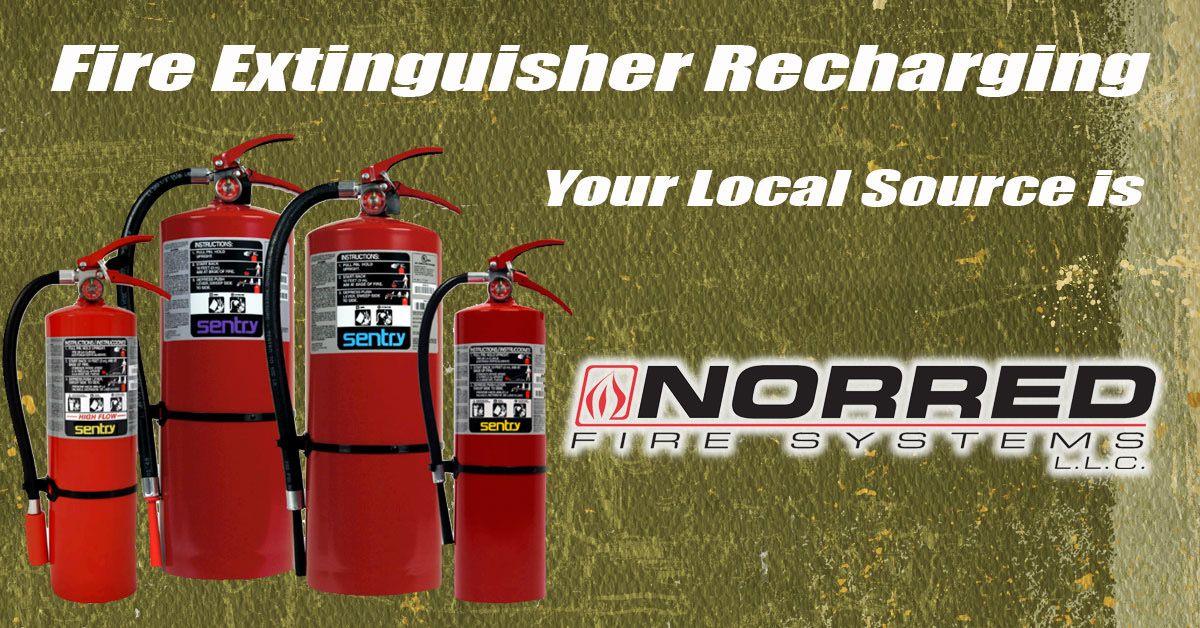 Fire Extinguisher Recharging Monroe and West Monroe LA