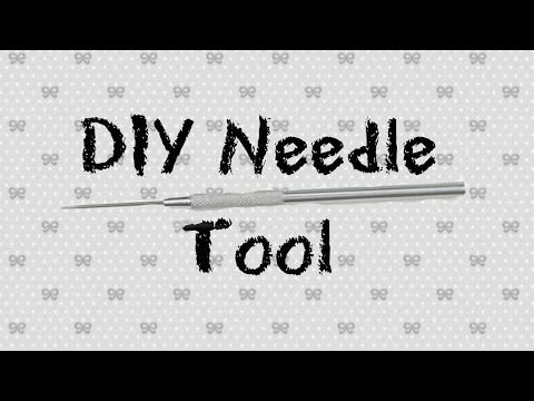 DIY Needle Tool out of Polymer Clay Tutorial