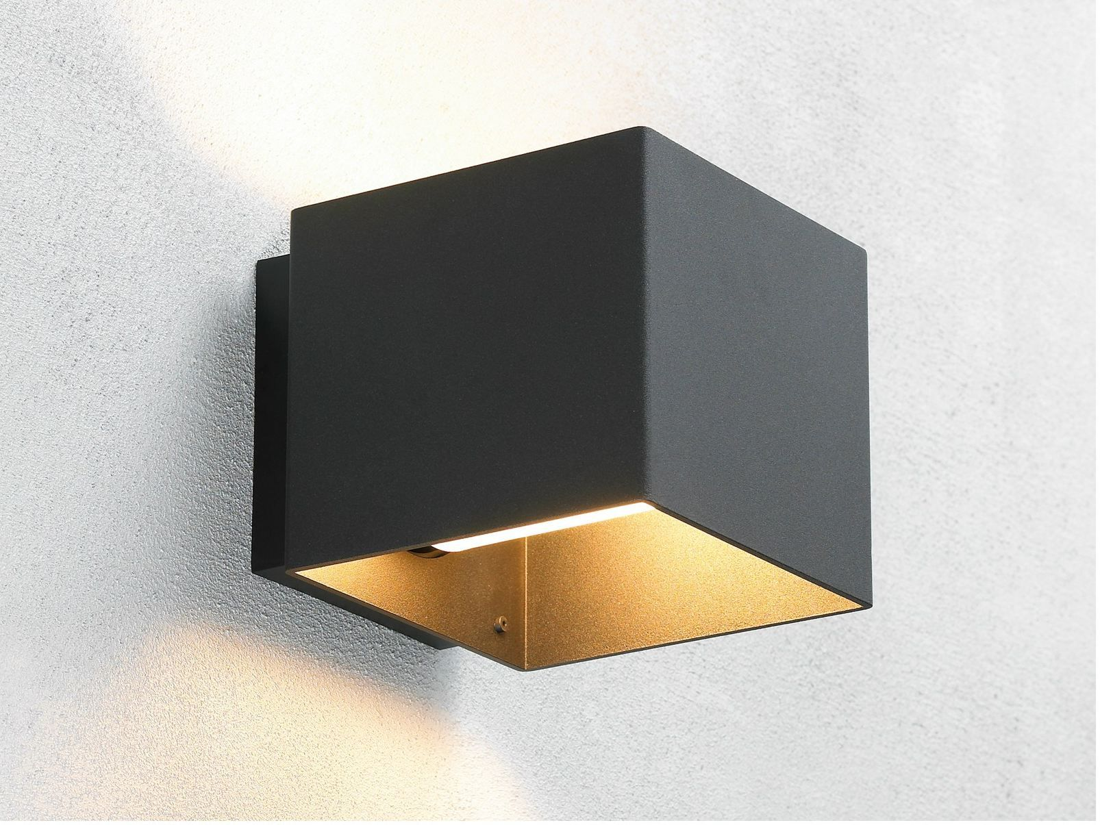 Applique in alluminio welcome outdoor by embacco lighting design