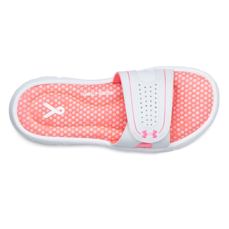 181b961ebcd1 Under Armour Ignite Power In Pink VIII Women s Slide Sandals in 2019 ...