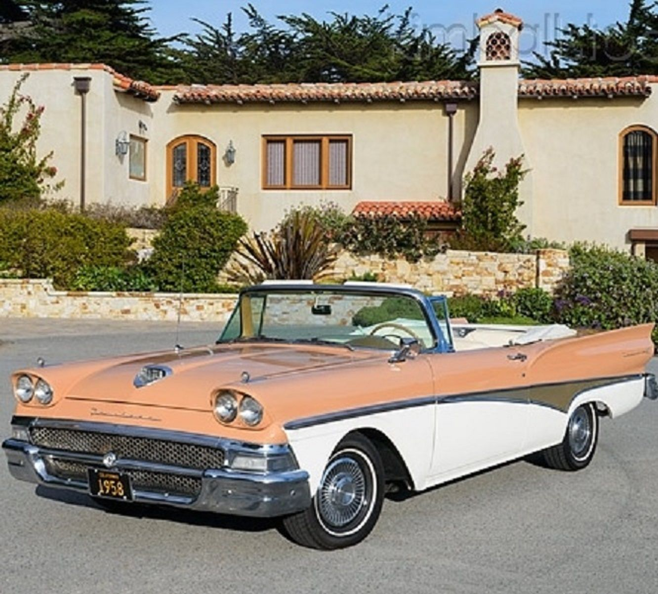 1958 ford fairlane 500 skyliner classic cars and trucks pinterest ford fairlane ford and cars