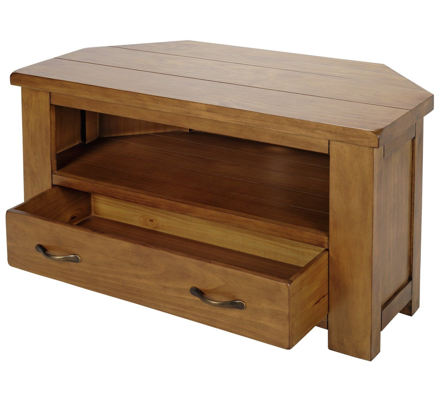 Buy Collection Arizona Corner Solid Pine TV Unit At Argoscouk Visit