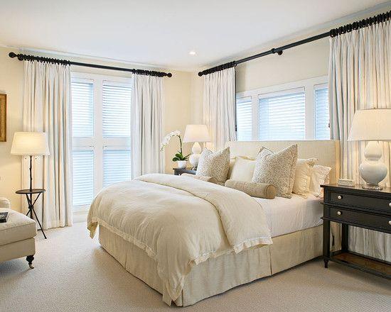 Bed, window covering, options bedrooms Pinterest Bedrooms