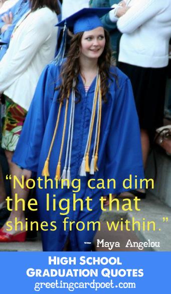 High School Graduation Quotes | Around Pinterest | High school