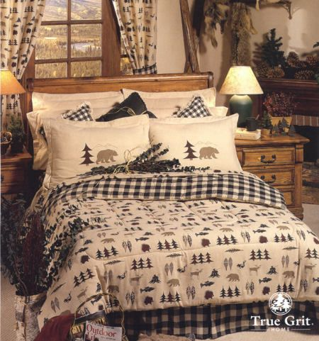 Bear And Moose Comforter Sets Bed In A Bag Sets Northern