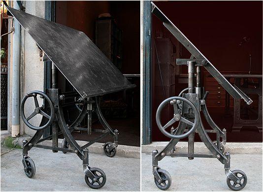 Table a table d ssin pinterest dessins industriels indust - Table d architecte ancienne ...