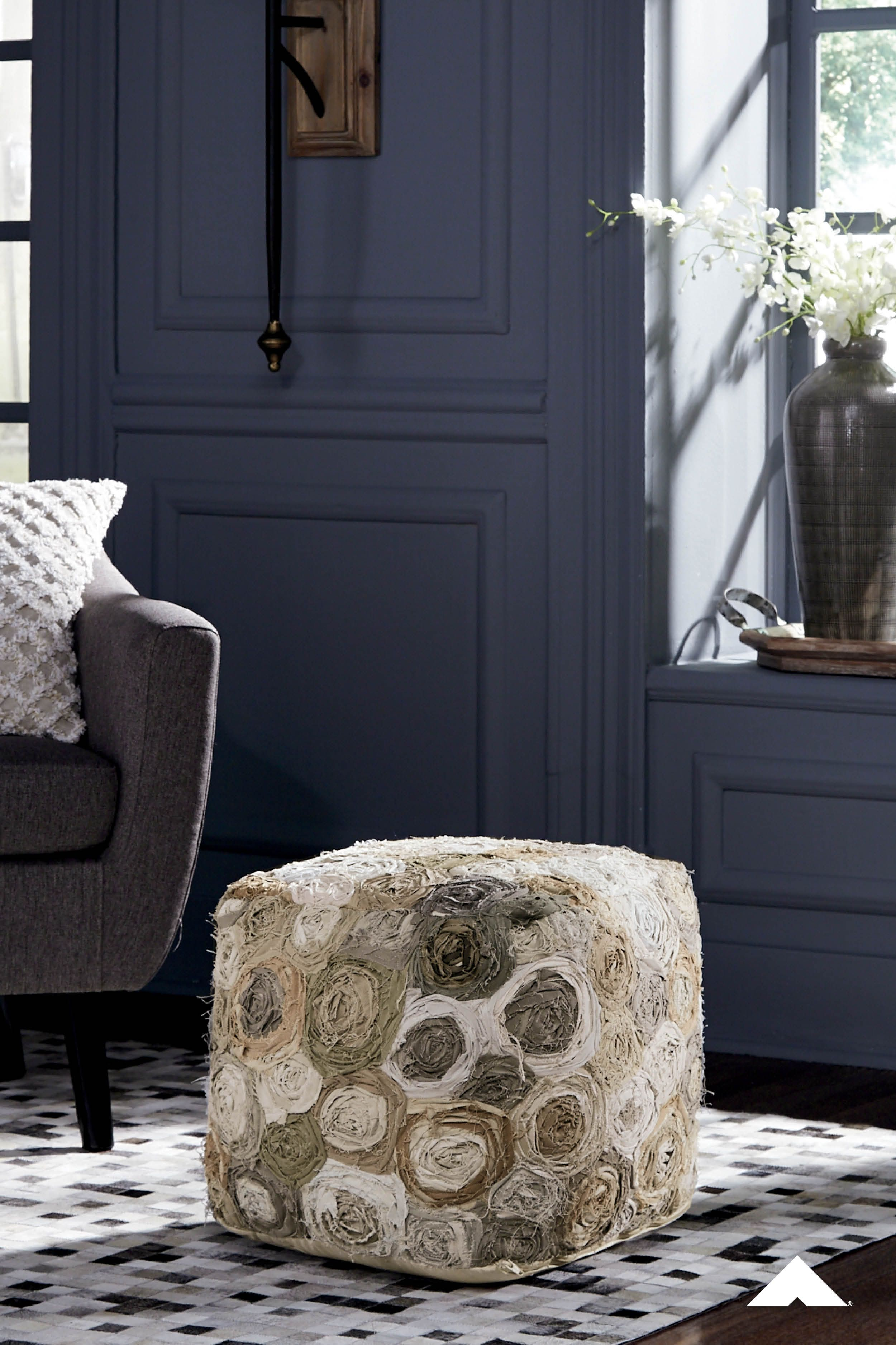 Roses Ashley Furniture : roses, ashley, furniture, Bayrose, Multi, Everything's, Coming, Roses., Embrace, Trend, Rose-patterned, Pouf., Artful, Texture, Decor,, Ashley, Furniture,