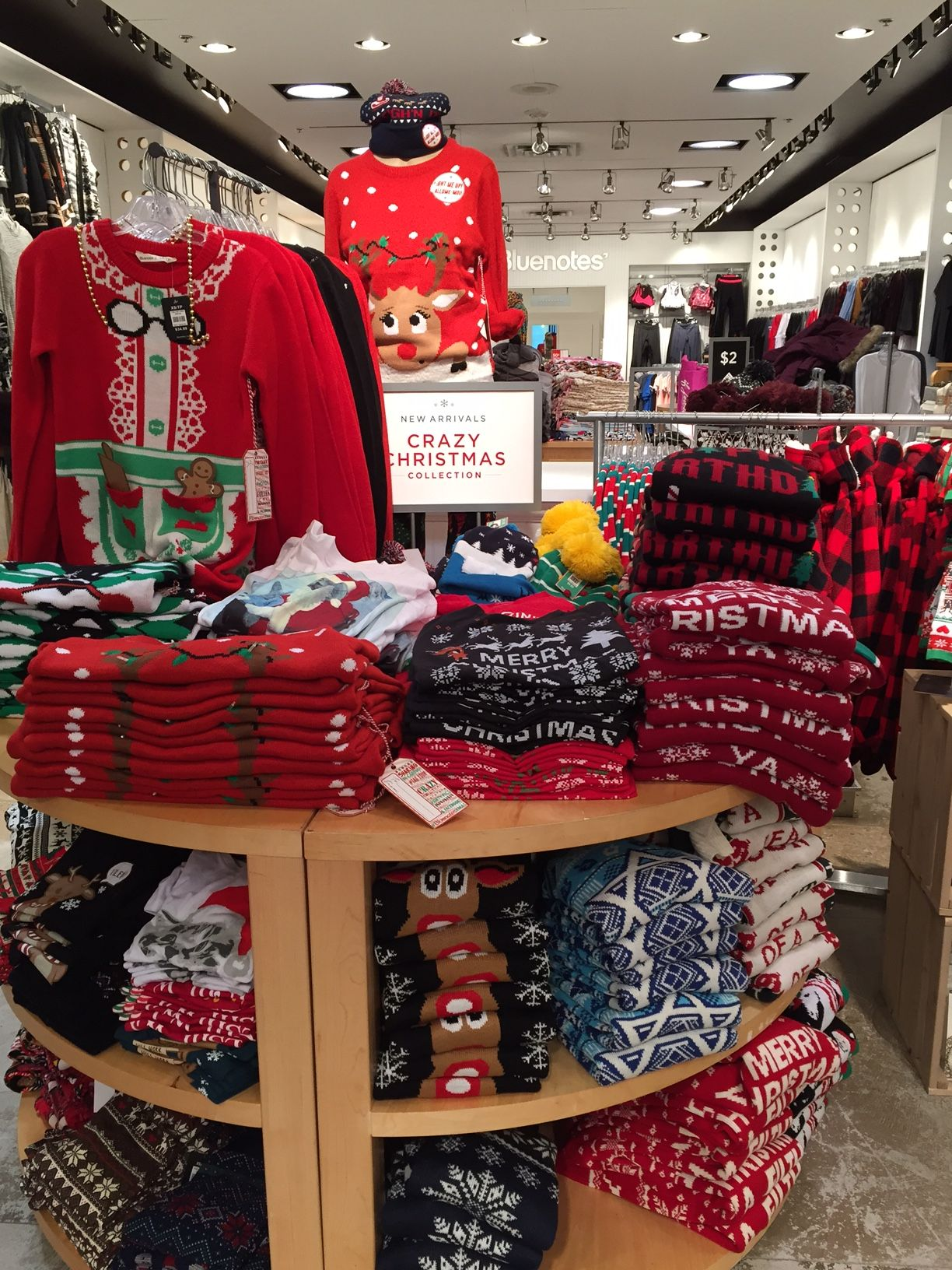 Ugly Christmas Sweaters As Seen At Bluenotes Winter Wonderland