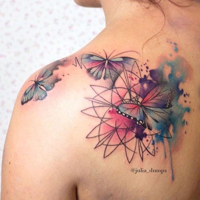 Photo of Julia Dumps Schmetterling Tattoo –  Julia Dumps Schmetterling Tattoo  – #butterf…