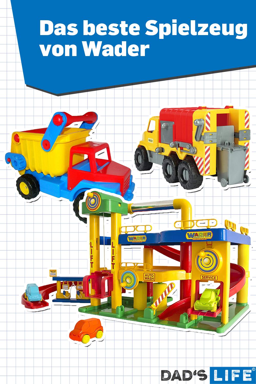 Das Beste Spielzeug Von Wader In 2020 Spielzeug Parkgarage Mullauto