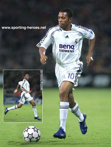 wholesale dealer f8642 92df9 Robinho - Real Madrid - UEFA Champions League 2006/07 & 2005 ...