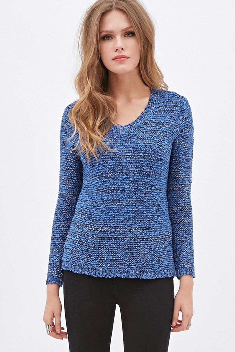 Contemporary Metallic Pointelle Sweater