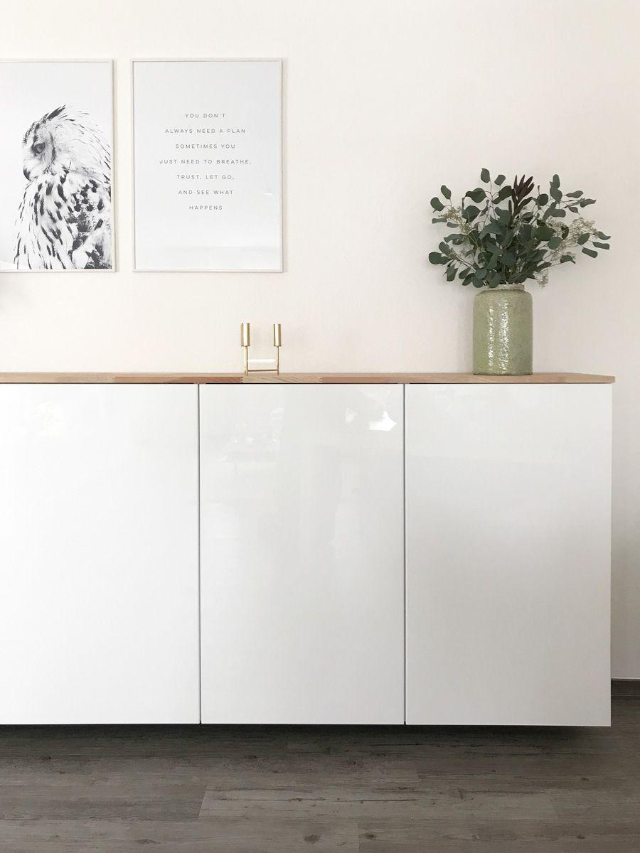 ikea hack - metod küchenschrank als sideboard | home - the furniture
