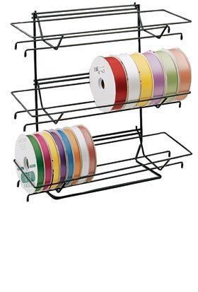 3rr Tiered Ribbon Rack Ribbon Storage Craft Storage Scrapbook