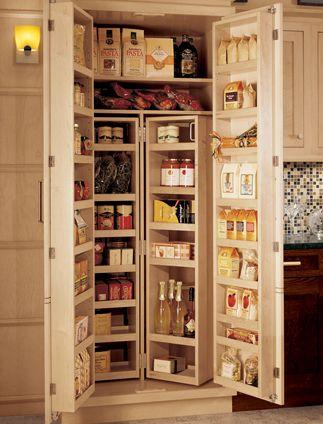 Framed Chefs Pantry Wood-Mode Fine Custom Cabinetry alacenas