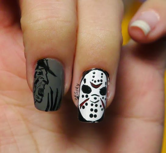 oblicky nails : Characters