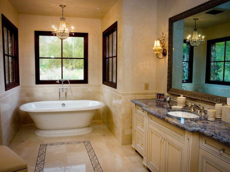 baño estilo rustico estilo lujoso Interiores para baños