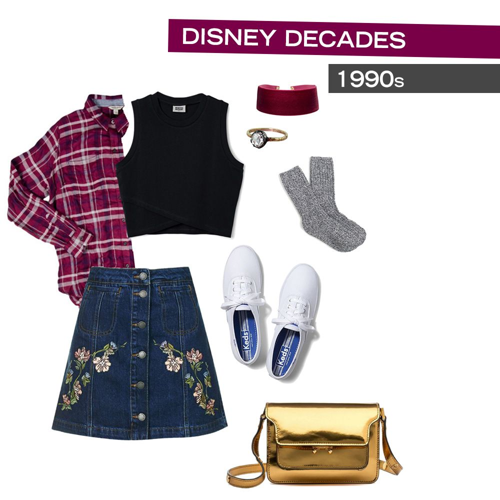 15acc115d66  90s Disney style inspired by Beauty and the Beast + Aladdin + Mulan