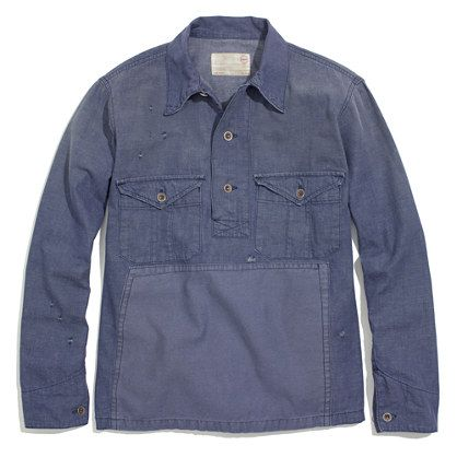 Chimala® Denim Workshirt Pullover | would be nice | Pinterest ...