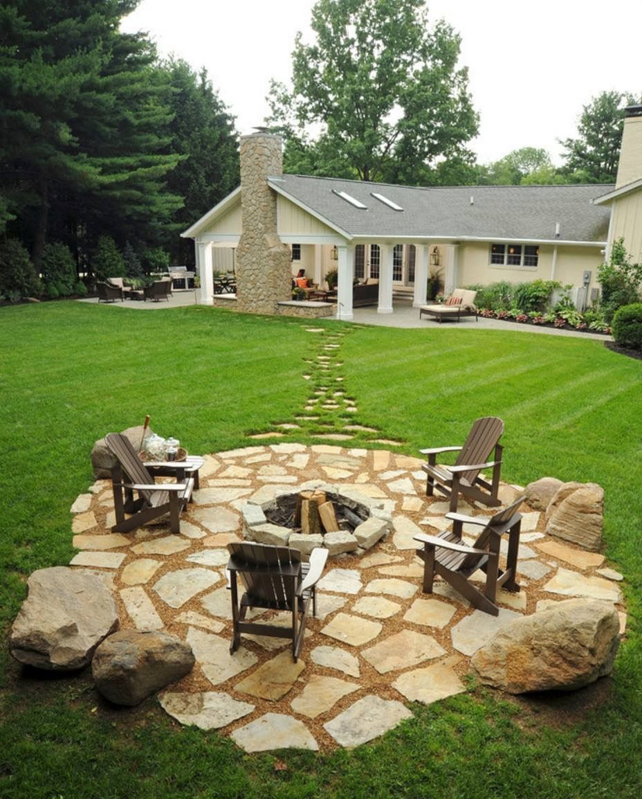 19 Impressive Outdoor Fire Pit Design Ideas For More Attractive ...