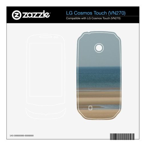 Lovely Beaches - LG Cosmos Touch (VN270) Skin LG Cosmos Touch Decal