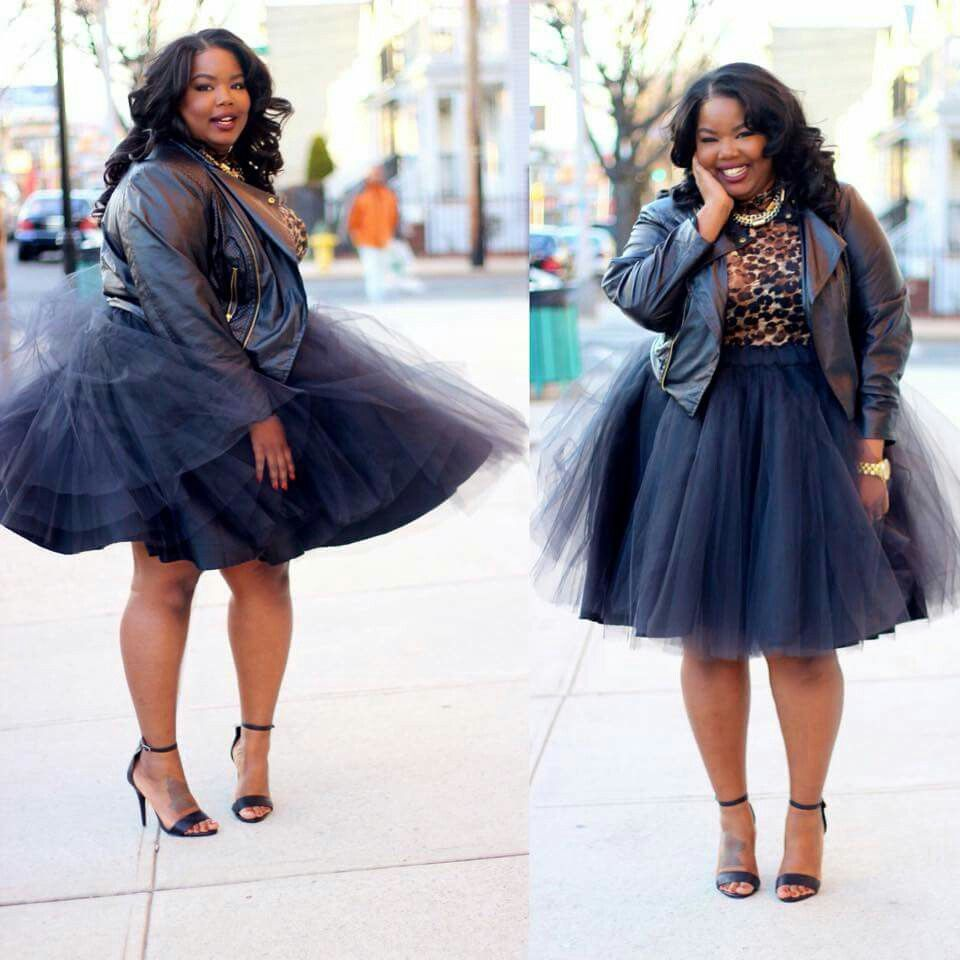 Everything Curvy and Chic Black tutu skirt, Tulle skirts