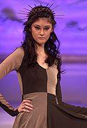 """Kristin Costa """"Joan of Arc"""" Fall/Winter 2013. Modeled by Yen"""