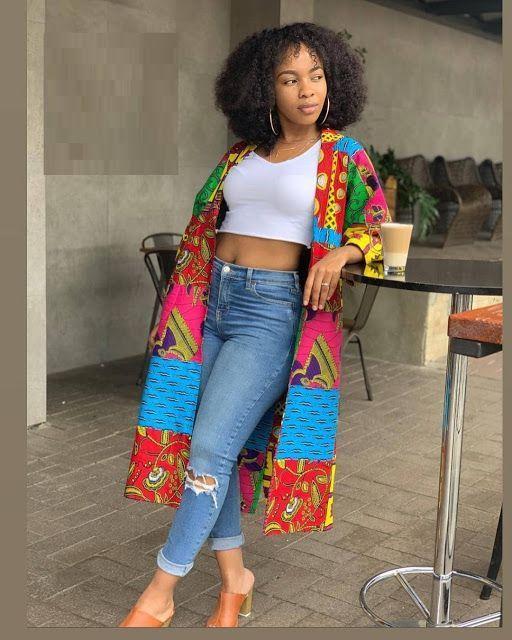 Afrikanische Jacke und Hose im Ankara-Stil für mehr Schönheit #afrikanischekleider Afrikanische Jacke und Hose im Ankara-Stil für mehr Schönheit #afrikanischekleidung