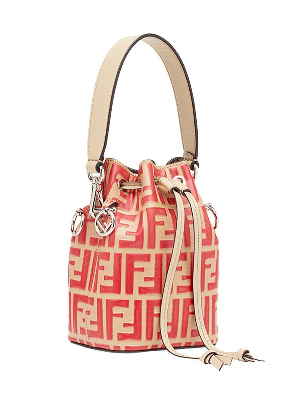 3c27bd9d7b41 Fendi Mon Trésor Mini Bucket Bag